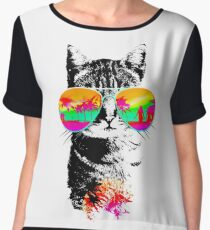 Summercat Women's Chiffon Top