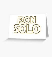 Ron Solo Greeting Card