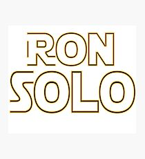 Ron Solo Photographic Print