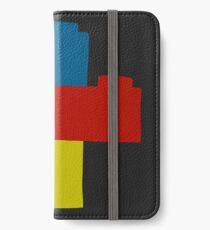 Ziegel iPhone Flip-Case/Hülle/Klebefolie