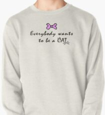 Pink Cat Pullover