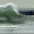 shore break by Stephen Burke