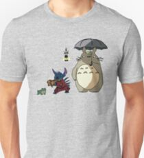 Camiseta unisex Totoro y Stitch mash-up!