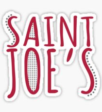 Saint Joe's Sticker
