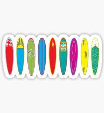 Vintage Surfboards Sticker