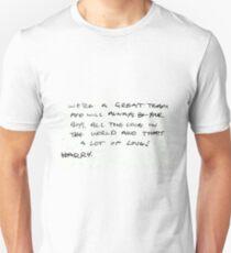 Harry Styles Handwriting  T-Shirt