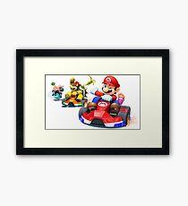 MarioKart Framed Print