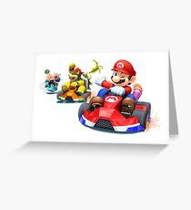 MarioKart Greeting Card