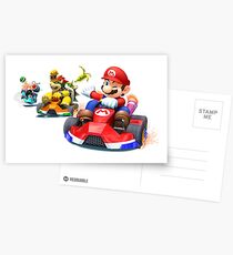 MarioKart Postcards