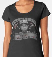 Clementine Still Not Bitten (V.4) Women's Premium T-Shirt