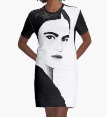 Frida Kahlo Graphic T-Shirt Dress