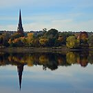 Fredericton Reflections in Autumn by Steve Hildebrandt