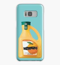 waterparks orange juice Samsung Galaxy Case/Skin