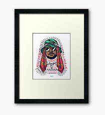 Schoolboy Q Framed Print
