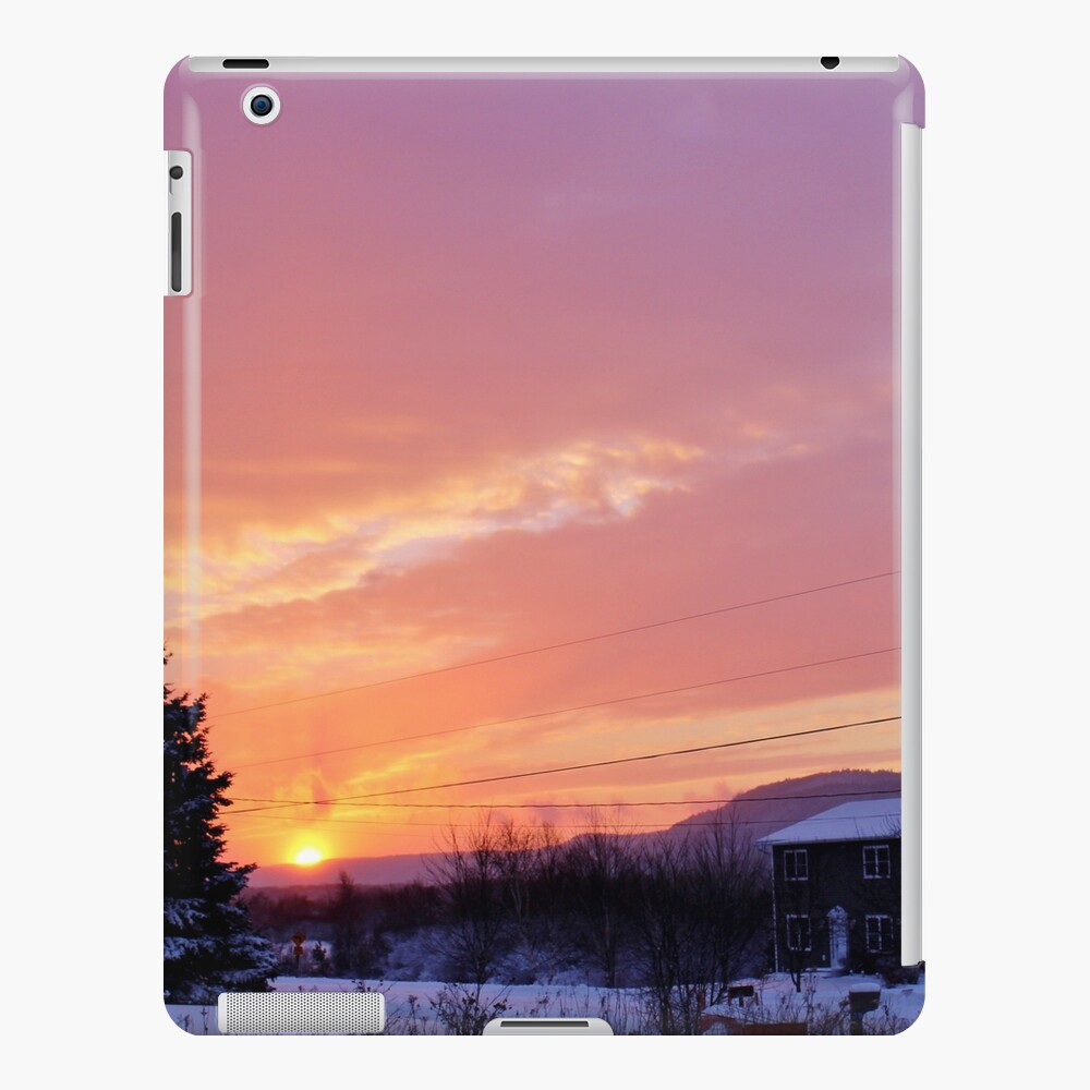 Sunset After the Snowstorm II Funda y vinilo para iPad
