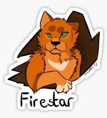 Firestar Crash Sticker