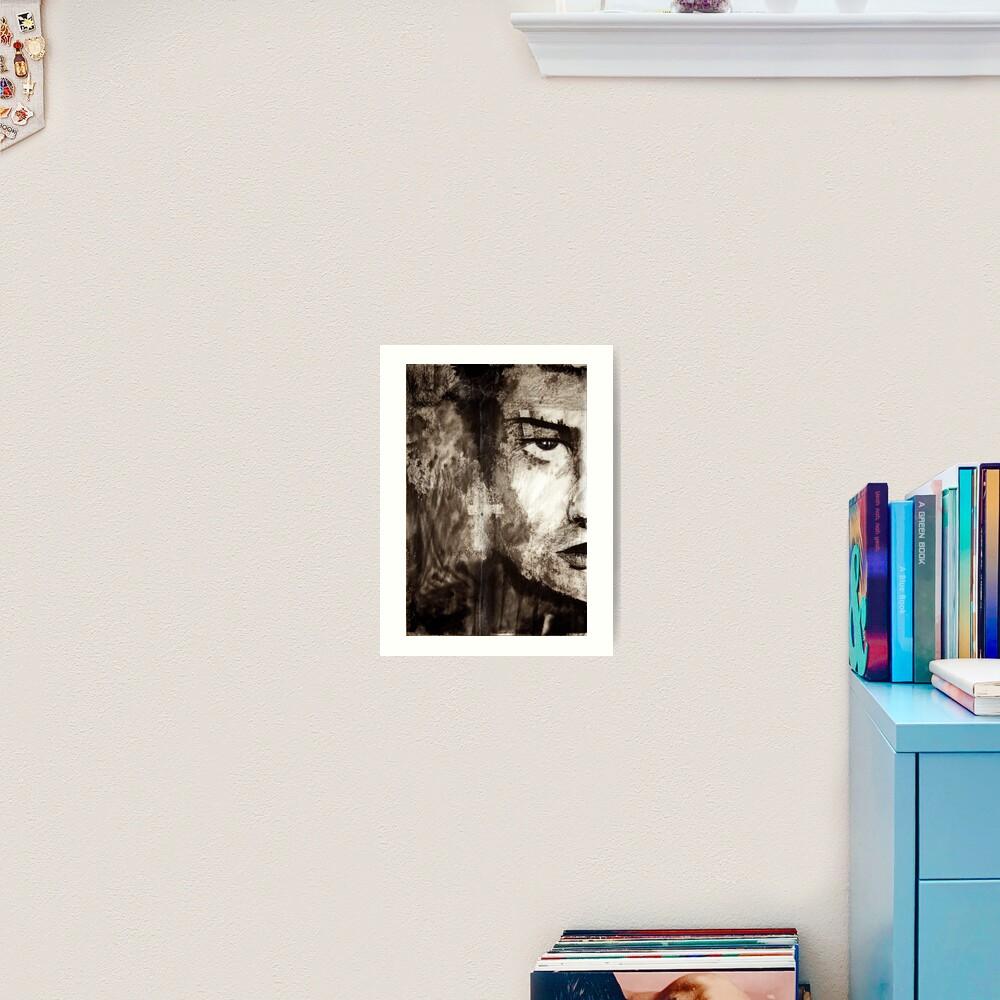 portrait of Simon John Ritchie Art Print