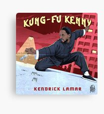 Kung Fu Kenny Canvas Print