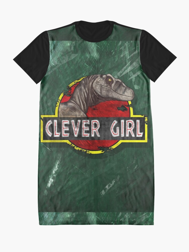 Alternate view of Clever Girl Graphic T-Shirt Dress
