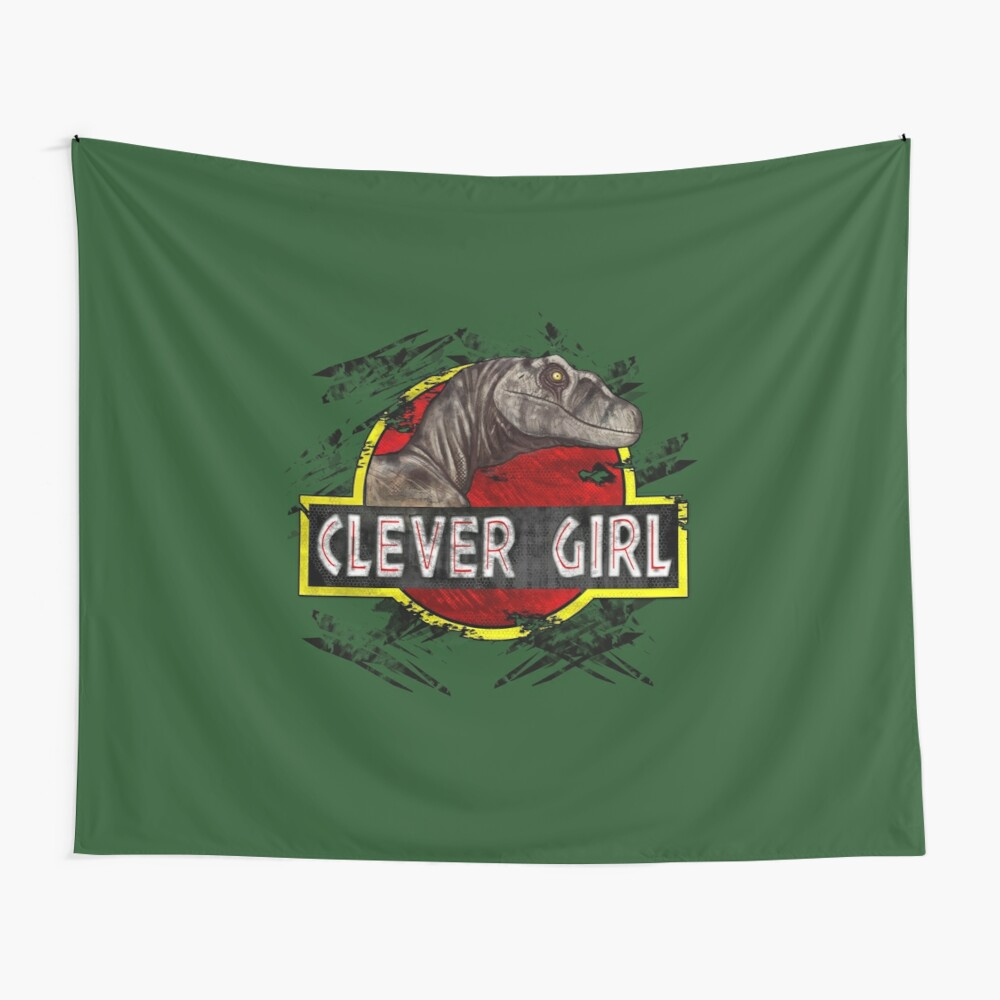 Clever Girl Wall Tapestry
