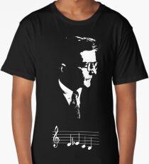 Dmitri Shostakovich DSCH motif musical notes Long T-Shirt