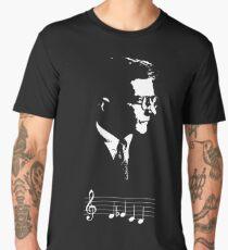 Dmitri Shostakovich DSCH motif musical notes Men's Premium T-Shirt
