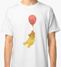 Bear and balloon Inspired Silhouette Classic T-Shirt