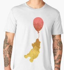 Bear and balloon Inspired Silhouette Men's Premium T-Shirt