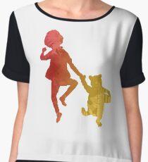 Boy and Bear Inspired Silhouette Women's Chiffon Top