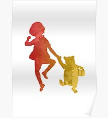 Boy and Bear Inspired Silhouette Poster