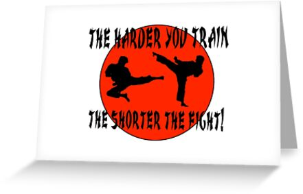 Martial arts greeting cards by wimblettdesigns redbubble martial arts by wimblettdesigns m4hsunfo