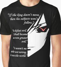 The Testamennt of Lelouch Vi Britannia Part 1 Graphic T-Shirt