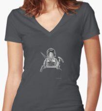 The Adventurer Women's Fitted V-Neck T-Shirt