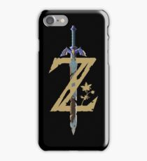 Breath Of The Wild Logo iPhone Case/Skin