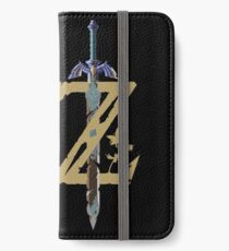 Breath Of The Wild Logo iPhone Wallet/Case/Skin