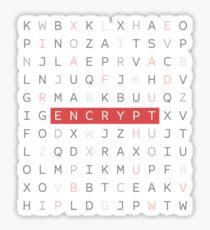 ENCRYPT Sticker