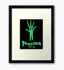 Phantom Pt. II Framed Print