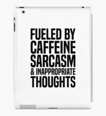 Caffeine & Sarcasm iPad Case/Skin