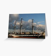Old Ironsides Greeting Card
