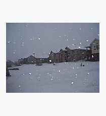 """ Snowstorm "" Photographic Print"