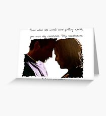 My Touchstone Greeting Card