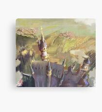 The Mad King's Castle Canvas Print