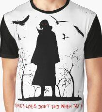 Itachi's Version of DEATH! Graphic T-Shirt