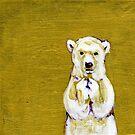 Before I Sleep Polar Bear Cub by Christine Montague