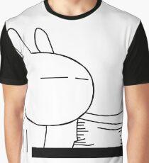Tuzki 4 - Work Work! Graphic T-Shirt