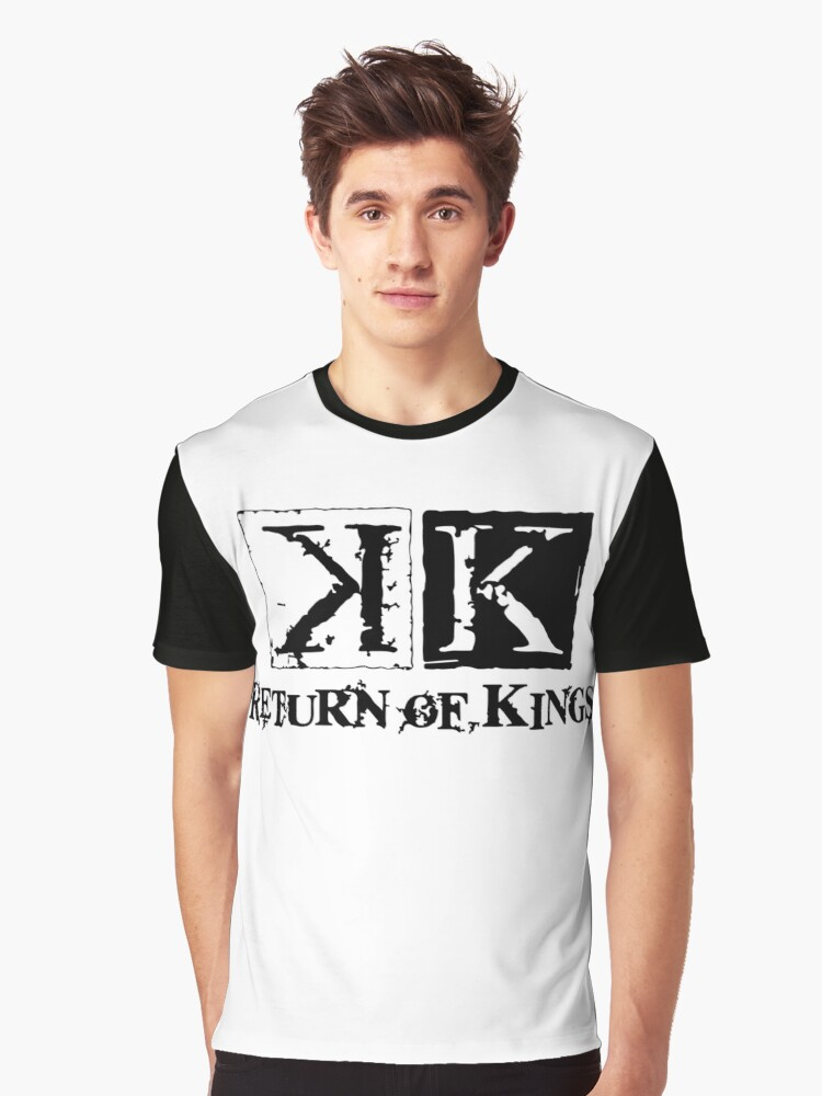 K PROJECT - RETURN OF KINGS Graphic T-Shirt Front