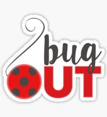 Bug Out Lady Bugs Sticker