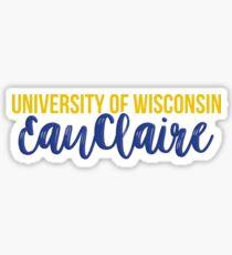 University of Wisconsin - Eau Claire Sticker