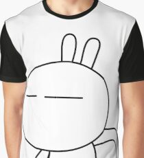 Tuzki 2 - I'm so Happy! Graphic T-Shirt