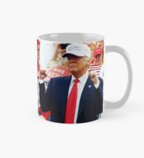 """President Trump - """"Putting Dreams Into Action"""" Inspirational Quote Mug"""